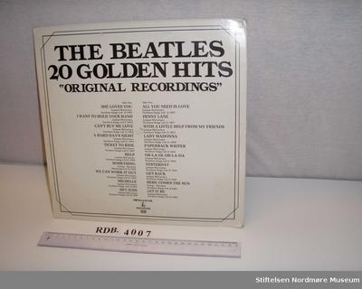 20 golden hits; Grammofonplate
