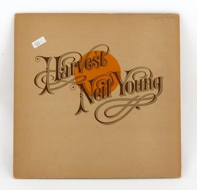 Harvest; Grammofonplate