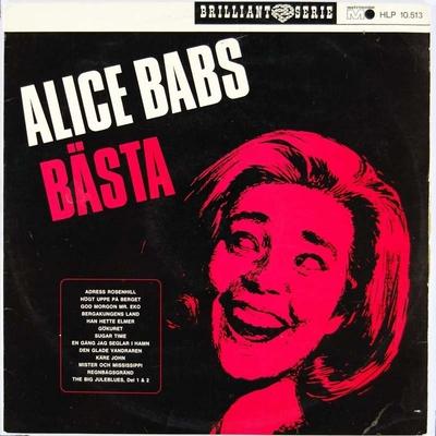 Alice Babs Bæsta; Grammofonplate