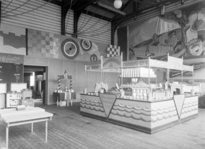 East Norway Canning Co A/S sin utstilling på handelsmesse