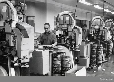 Image from object titled 11-1 IBM Hullkorttrykkeri