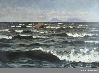 Maleri av Adelsten Normann