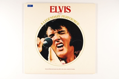 Elvis: A Legendary Performer Volume 1; Grammofonplate