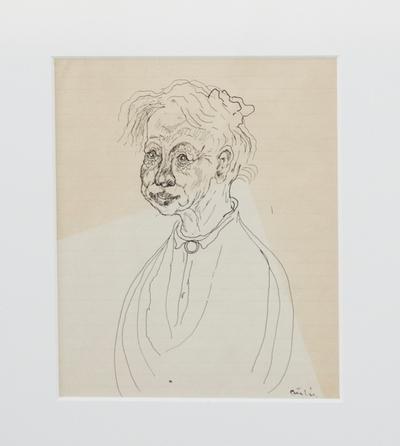 Gammel dame; Old Woman