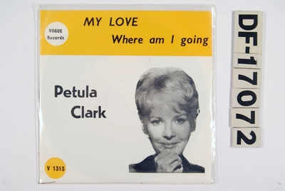 My Love / Where am I going; Grammofonplate