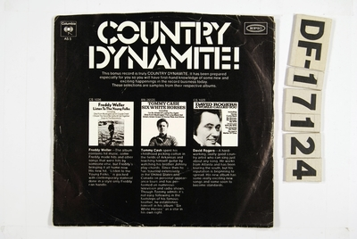 Image from object titled Country Dynamite!; Grammofonplate