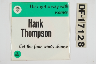 He's got a way with women / Let the four winds choose; Grammofonplate