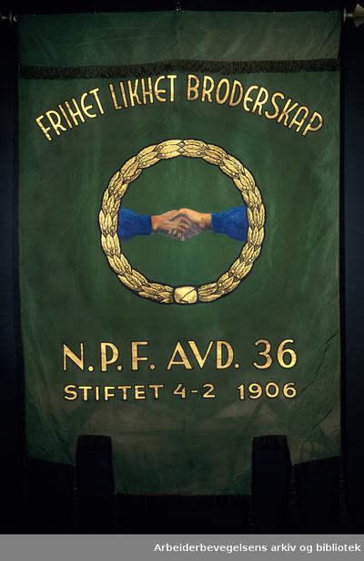 Mjøndalen cellulosearbeiderforening avd 36