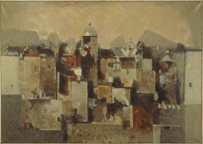 By nær ørken