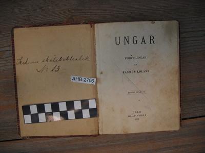 Løland, Rasmus: Ungar; Bok-fortellinger