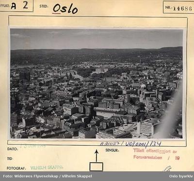 Image from object titled Panorama over Oslo