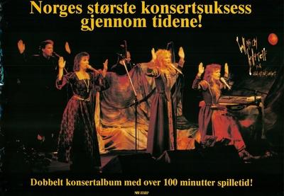 Which Witch på Slottsfjellet; Plakat