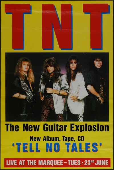 TNT : Live at the Marquee; Plakat