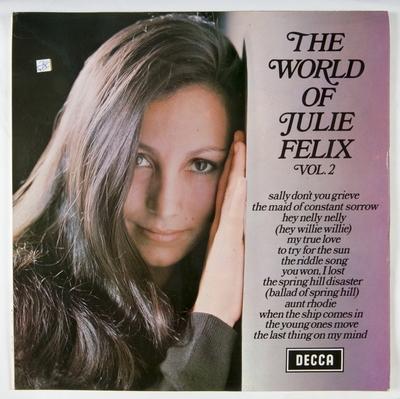 The World of Julie Felix Vol. 2; Grammofonplate