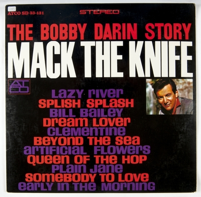 Image from object titled The Bobby Darin Story; Grammofonplate