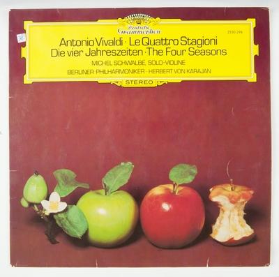 Antonio Vivaldi: Le Quattro Stagioni; Grammofonplate