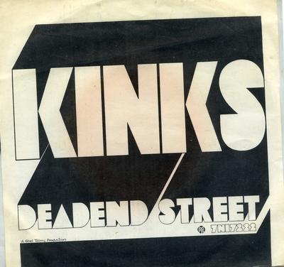 Big Black Smoke; Dead End Street; Grammofonplate
