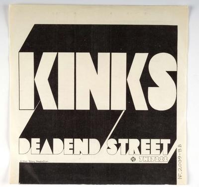 Big Black Smoke; Dead End Street; Omslag