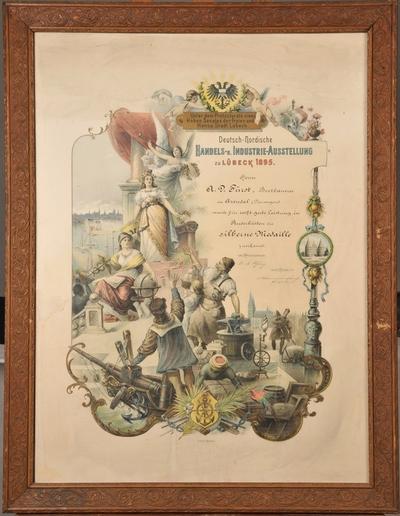 Deutsch-Nordische Handels u. Industrie-Austellung zu Lübeck 1895