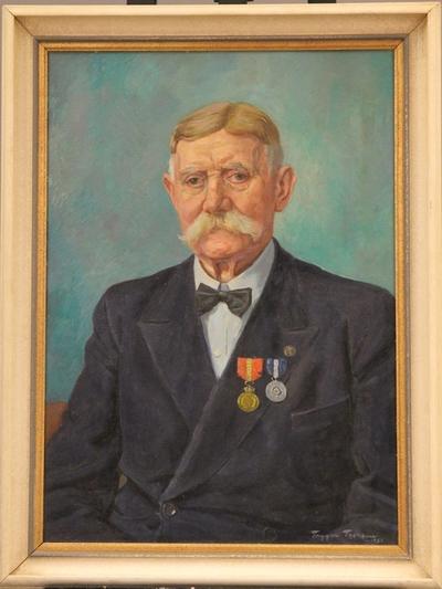 Portrett av H. Martinussen