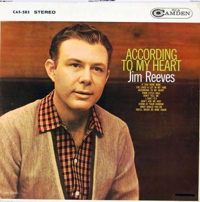 According to my heart; Grammofonplate