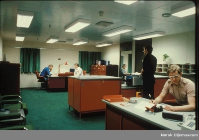 Image from object titled General Office på Ekofisk