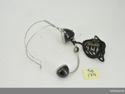 Image from object titled Hodemikrotelefon