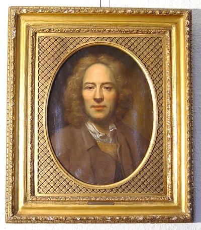 Portrett av kammertjener Kold; Maleri