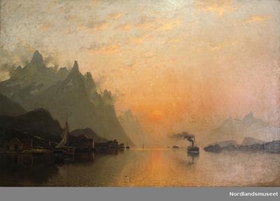 Maleri av Adelsteen Normann