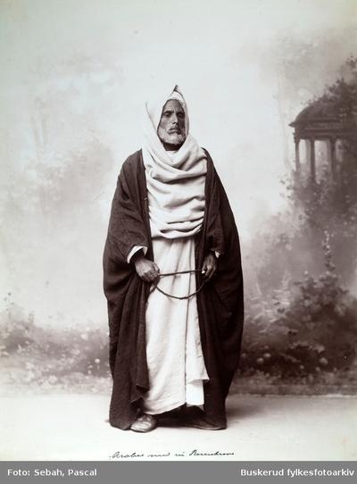 Araber med sin rosenkrans