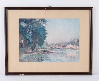 Die Seine bei Bougival