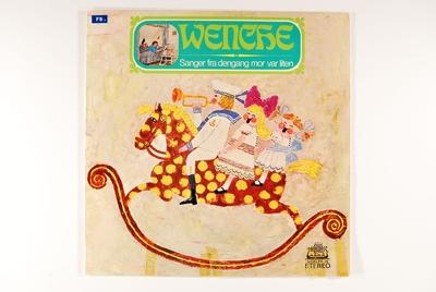 Sanger fra dengang mor var liten; Grammofonplate