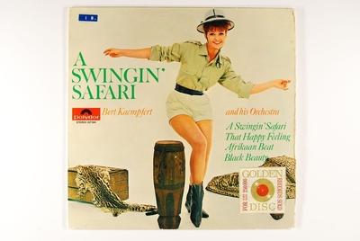 A Swingin' Safari; Grammofonplate