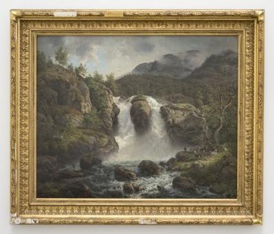 Hundefoss i Sogn; Hundefoss (Waterfall) in Sogn