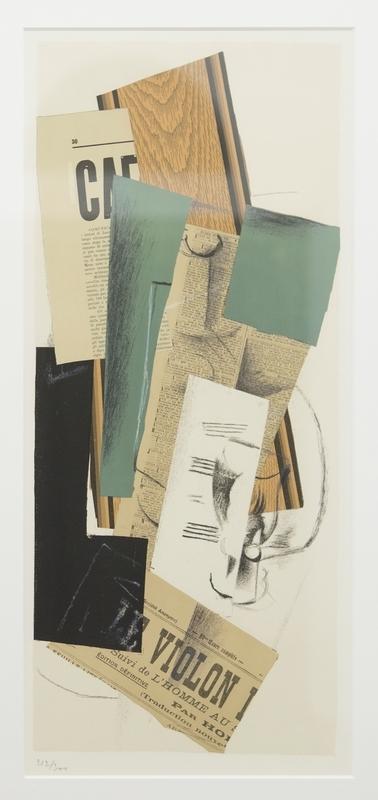 Plakat av Georges Braques. Avant Lettre