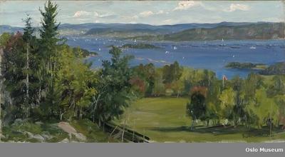Indre Christianiafjord. Fridtjof Nansens hjemkomst