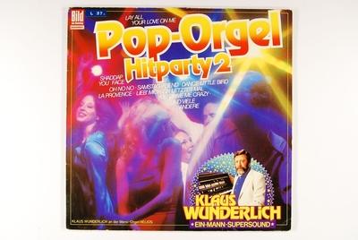 Pop-Orgel Hitparty 2; Grammofonplate