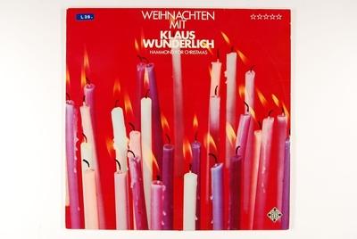 Weihnachten Mit Klaus Wunderlich - Hammond For Christmas; Grammofonplate