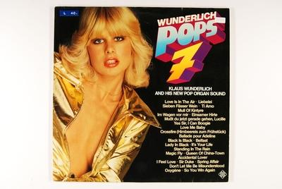 Wunderlich Pops 7; Grammofonplate