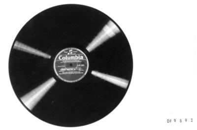 Leonore Overture No. 1; Grammofonplate