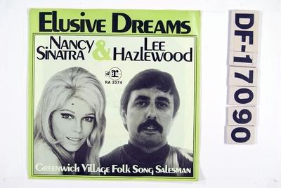 Elusive Dreams / Greenwich Village Folk Song Salesman; Grammofonplate