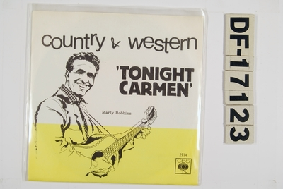 Tonight Carmen; Grammofonplate | Marty Robbins