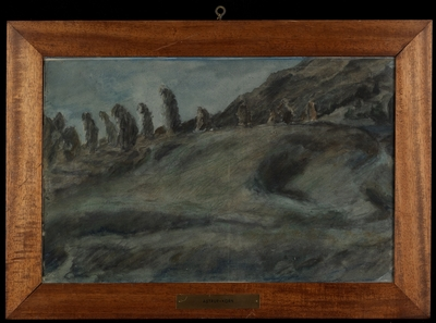 Maaneskin; Astrp-korn; Akvarell