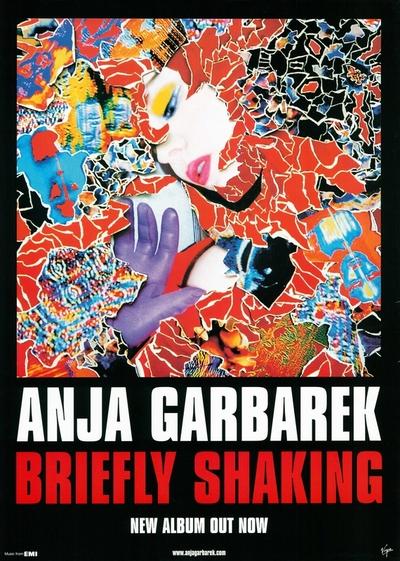 Anja Garbarek / Briefly shaking; Plakat