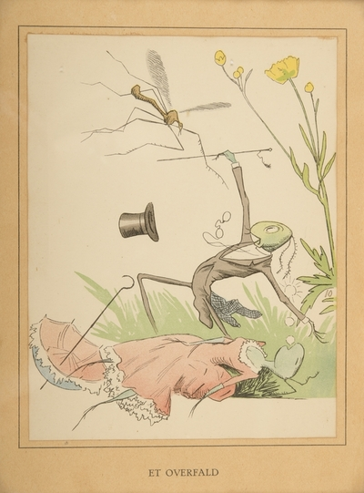 """""""Et overfald""""; Fra serien """"Har dyrene sjæl"""" (1892)"""