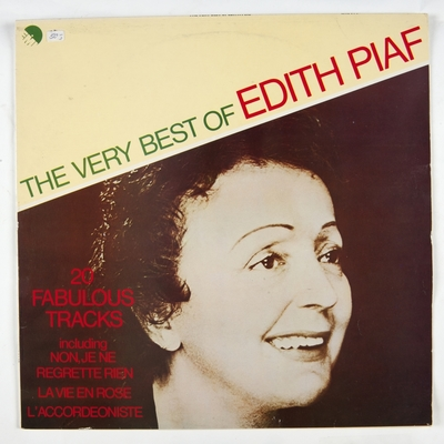 The very best of Edith Piaf; Grammofonplate