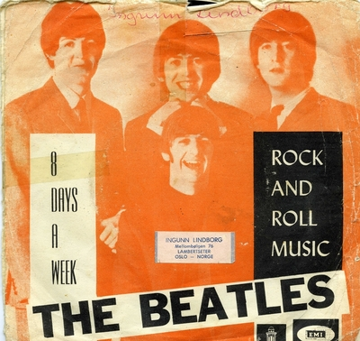 8 Days a Week; Grammofonplate; Rock and Roll Music