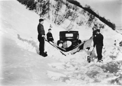 Snebrøyting