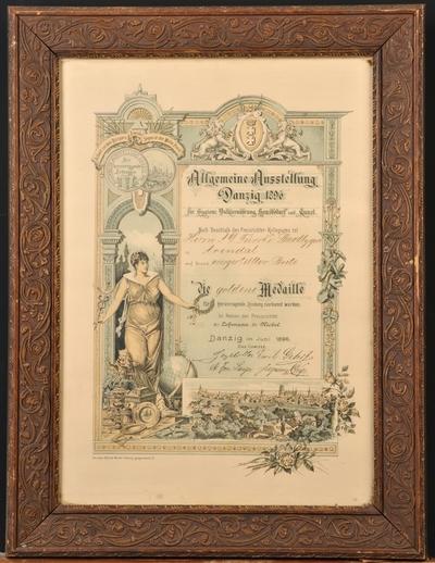 Allgemeine Austellung Danzig 1896