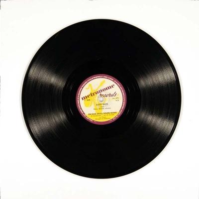 En dag skall solen skina / Här ska' dansas; Grammofonplate